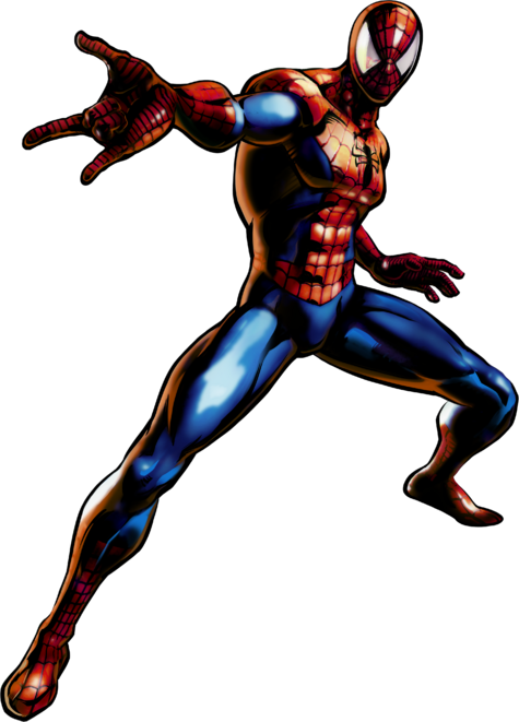 Spider-Man UMvC3 artwork