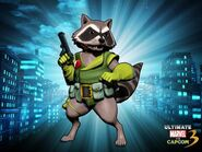 Rocket Raccoon UMvC3 DLC costume