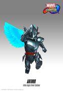 MVCI Fallen Angel Armor Arthur