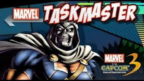 Marvel vs Capcom 3 Taskmaster Trailer