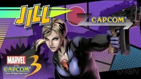 Marvel vs Capcom 3 Jill Valentine Reveal Trailer