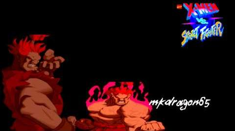 X-Men Vs Street Fighter OST, T19 - Theme of Gouki
