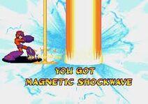 Mega Man Magnetic Shockwave