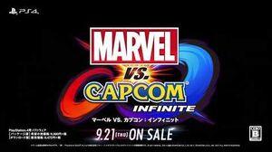 「マーベル VS. カプコン:インフィニット」 CM映像(30秒Ver
