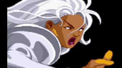 X-Men Vs Street Fighter-Theme of Storm