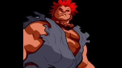 Marvel Super Heroes Vs Street Fighter-Theme of Akuma