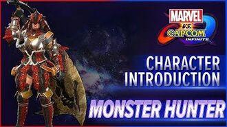 Marvel vs. Capcom Infinite - Monster Hunter Tutorial