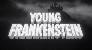 Young frankenstein title card