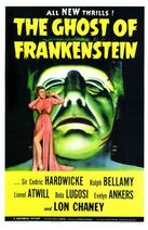 The Ghost of Frankenstein movie poster