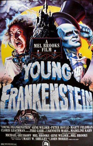 Young-frankenstein poster