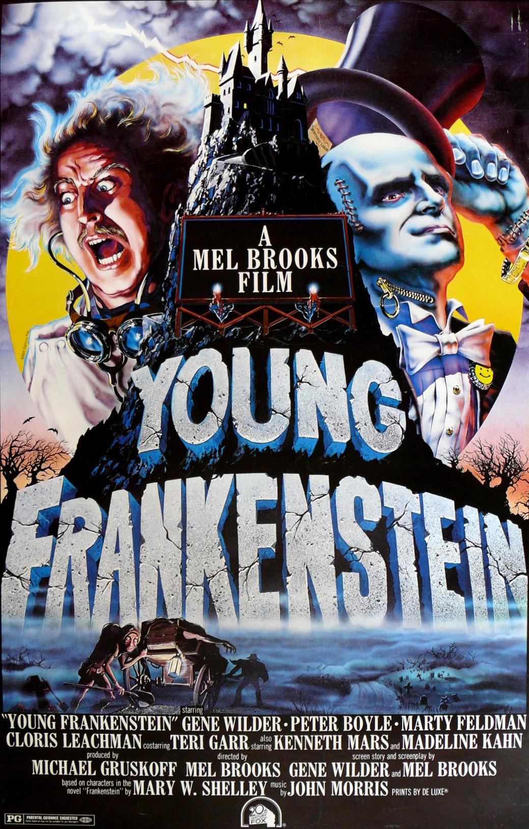 Young Frankenstein Mary Shelley Wiki Fandom Powered By Wikia
