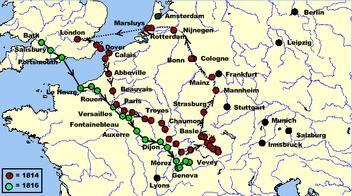 Six weeks map
