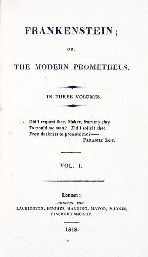 Titlepage large-frankenstein