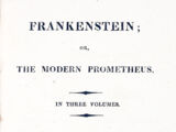 Frankenstein; or, The Modern Prometheus (1818)