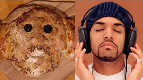 Craig David's face in a loaf - The Great British Bake Off An Extra Slice - Episode 3 - BBC Two