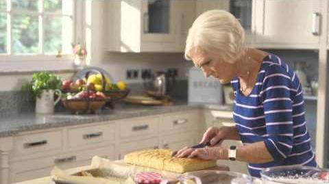 Mary Berry's Lucy's Strawberry Slices