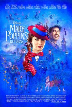 Mary Poppins Returns Theatrical Poster