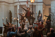 Chimney Sweeps in Mary Poppins Returns