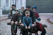 Mary Poppins & Kids Bike