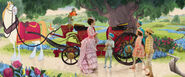 Mary Poppins Animated & LA Horses