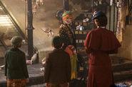 Mary Poppins Street Vendor