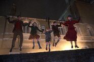 Mary Poppins & Kids Jump
