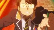 Tanabe asustado frente a Masamune EP01