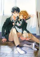 Ilustración - Masamune y Yoshino (Tiv)