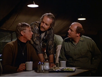 Ep 10x3 - Mulcahy with BJ and Charles in the mess