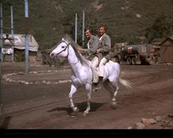 MASH episode-3x8-Hawk and Trapper Horseback