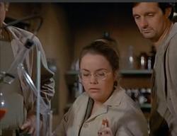 Sarah Fankboner as Nurse Owens MASH