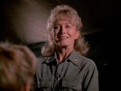 Judy Farrell as Nurse Able