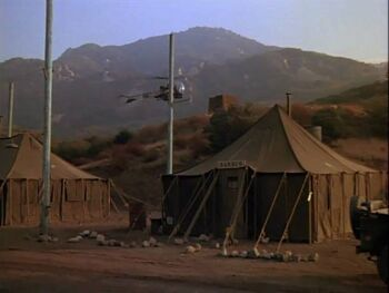 Barber tent-deluge & Barber tent | Monster M*A*S*H | FANDOM powered by Wikia