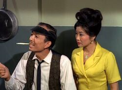 Frances Fong and James Hong on Gomer Pyle USMC