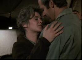 MASH Episode 5x18 - Hanky Panky - BJ and Nurse Donovan