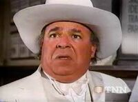 Sorrell Booke as Boss Hogg on Dukes of Hazzard