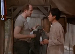 MASH episode - Dear Comrade - Charles hires Kwang