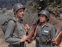 Kino as soldier-5 oclock charlie