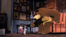 14 Маша Медведь и Зайка 4