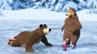 10 Маша Медведь и Медведица
