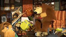 60 Медведь и Робот