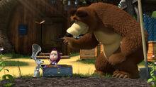 12 Маша Медведь Зайка