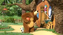 49 Медведь, Панда и Маша