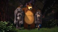55 Маша, Медведь и Волки