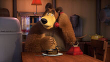 74 Медведь