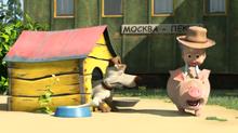 40 Пёс, Маша и Розочка