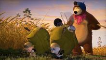 57 Маша, Медведь и Панда 3