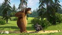 08 Медведь и волк