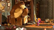 41 Маша, Медведь и Моль