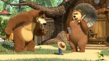40 Медведь, Медведица и Маша